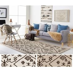 Shop for Hand-Tufted Track Wool Rug (8' x 10'). Get free shipping at Overstock.com - Your Online Home Decor Outlet Store! Get 5% in rewards with Club O!