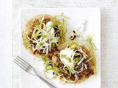 Beef tostadas are an easy variation to classic taco night (and kids love them just as much!).
