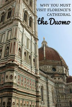 Why you must visit the Duomo Florence, the Cathedral of Santa Maria del Fiore. Climb the stairs to the top for one of the best views of Florence, Italy. via @JustinLaurenXO
