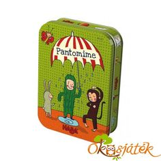 Activity gyerekeknek a HABA-tól, kis fémdobozban - Pantomime - HA Pantomime, Charades Game, Childrens Board Games, Board Games For Kids, Kids Toys Online, Educational Board Games, Down Quilt, Toy Packaging, Ideas