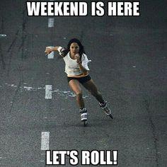 #weekend  #rollerblade #fitness