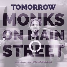 TOMORROW in less than 24 hours we release Monks on Main Street. This has been 3 years in the making so it is a big moment for all of us in #TeamCornflower.  We intentionally synchronized the release to the Equinox as it symbolizes balance which to me is at the foundation of Monks on Main Street.  Balance is key to be in this world fully empowered and a fully empowered Human Being on the Path of Remembering is what a true Monk is. When you are devoted to your awakening and the awakening of…