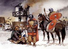 """Cavalry on the Upper German frontier, c. 230 AD"""