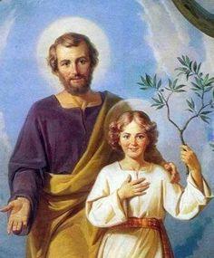 LA ALEGRÍA DE JESÚS CON PAPÁ JOSÉ