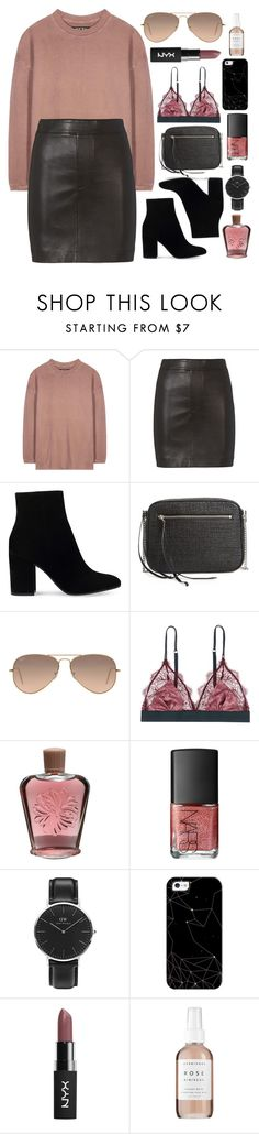 """""""Untitled #614"""" by clary94 ❤ liked on Polyvore featuring adidas Originals, Helmut Lang, Gianvito Rossi, AllSaints, Ray-Ban, LoveStories, Paul & Joe, NARS Cosmetics, Daniel Wellington and Casetify"""
