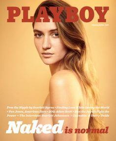 Copertina #NakedIsNormal, marzo-aprile 2017