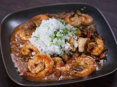 Louisiana Style Shrimp recipe from Rachael Ray via Food Network