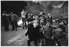 """From the book """"War Photographer: Between Shadow and Light"""" by Christine Spengler. #nothern #ireland #1970s"""