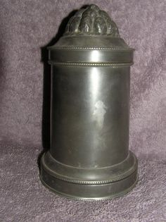 Vintage Antique 1700's - 1800's  Pewter England English Pudding Ribbed Mold  offered on EBay for $400