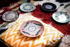 Vito Nesta, Costantinopoli plates for Les Ottomans, 2017