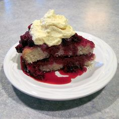 "Last night after supper, I overheard my youngest saying  to one of his online friends, ""My mom makes the bet shortcake ever!""  Since this recipe got such rave reviews from the family, I figured I'd share it here, too. By my husband's request (since it was Father's Day), I whipped up some"