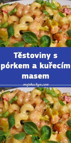 Pasta Salad, Meat, Chicken, Cooking, Ethnic Recipes, Crab Pasta Salad, Kitchen, Brewing, Cuisine