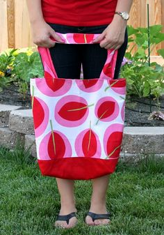 Canvas Summer Tote
