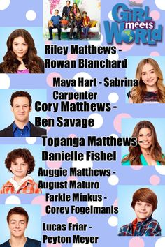 Girl Meets World Characters