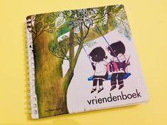 Jip en Janneke vriendenboekje - gratis printable pagina   thema vriendschap basisschool   Thema vriendjes jip en janneke? (2) Diy For Kids, Art, Craft Art, Kunst, Gcse Art, Art Education Resources