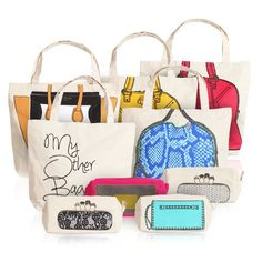 I am in love with these totes from My Other Bag co.! Can't decide which one I want??? <3