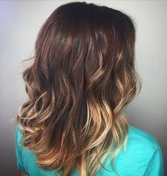 Fall Hair Color - Balayage Highlights - Aveda Color - Tangerine Salon