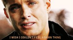 11. He has perfected the single tear. | Community Post: 55 Reason Jensen Ackles Is The Best Person Ever