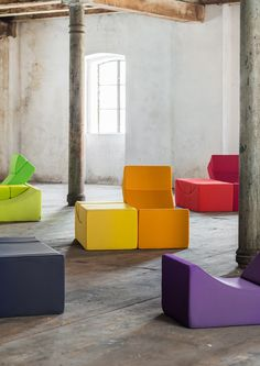 Fantastisch Two Parts, Several Combinations: MOON By LINA Design #rainbow Space Saving  Furniture,