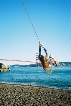 kirby cove rope swing - Google Search