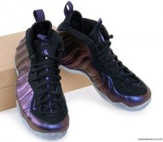Nike Air Foamposite One Eggplant - from its name, without even looking at the picture, you can easily imagine the color of the Nike Air Foamposite One Eggplant. With its vibrant purple color, this Foamposite is very nice in the eyes...