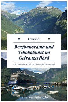 Kreuzfahrt durch Norwegen mit der Mein Schiff 5 #kreuzfahrt #norwegen #geirangerfjord
