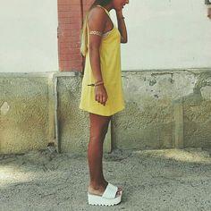 Babydoll Dress por ImTanyaO en Etsy