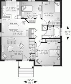 Modern Single Story House Plans log home floor plans | single story home plan @ architectural