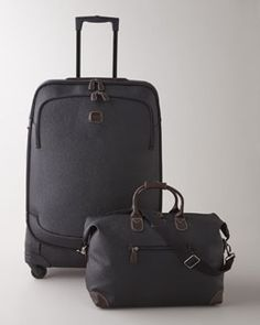 -4BSN Brics Black Magellano Luggage Collection