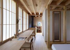 Yatsugatake Villa by MDS.  Love all the wood