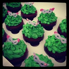 Masquerade Cupcakes    Gallery - Add a Little Frosting to Your Life!