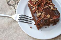 CHOCOLATE PECAN CAKE // shutterbean