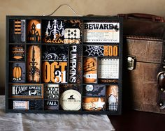 halloween party scrapbook ideas | And here's a cool FREE Halloween digi kit by Jen Allyson that you can ...