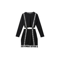 KKXX-OP-1041WB (1.980.090 IDR) ❤ liked on Polyvore featuring dresses, co-ord, lbd, vestidos, lbd dress and little black dress