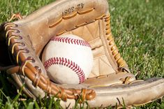 Photo about A baseball and leather glove on green grass. Image of field, leather, hardball - 16819429 American Games, Popular Sports, Moccasins, Gloves, Japan, Baseball, Green Grass, Addiction