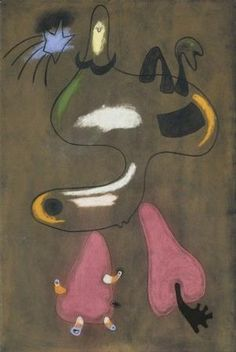 Figure, Joan Miro, 1934 - Musée des Beaux Arts de Lyon
