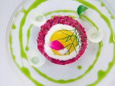 Vegetarische tartaar door Chefkok Alain Passard