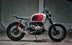 BMW R80 Scrambler by Motorecyclos #motorcycles #scrambler #motos | caferacerpasion.com
