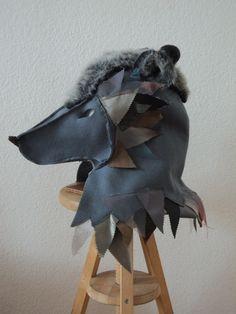 Wolf kostüm