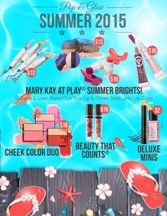 All new summer products that pop at www.marykay.com/jenjones.
