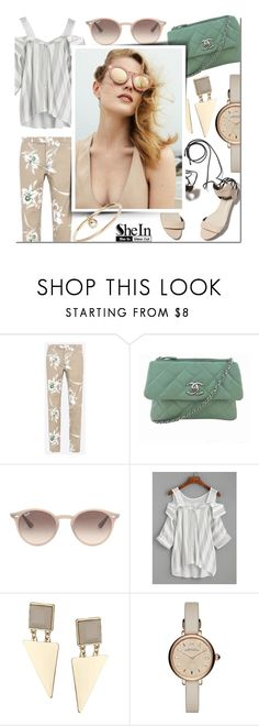 """SHEIN Contest"" by mfardilha ❤ liked on Polyvore featuring 3.1 Phillip Lim, Valentino, Chanel, Ray-Ban, WithChic, Topshop, Marc by Marc Jacobs and ZoÃ« Chicco"