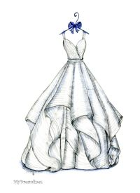 Over 3000 Amazing Wedding Dress Sketches Created Dress Design Drawing, Dress Design Sketches, Fashion Design Sketchbook, Fashion Design Drawings, Fashion Sketches, Fashion Drawing Dresses, Fashion Illustration Dresses, Drawing Fashion, Dress Fashion