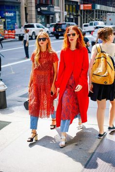 NYFW Street Style has left us with a great deal of inspiration. See the best fashion-girl pieces we're buying this week in anticipation for fall