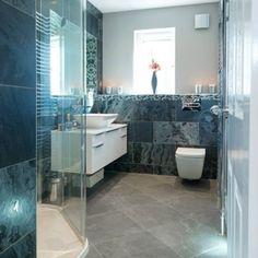 Slate Tile Bathroom Floor Pictures