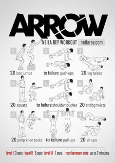 Arrow Workout / Superhero Workouts