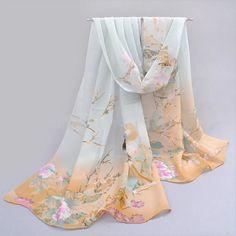 Fashion Chiffon Women Ladies Scarf Neck Shawl Scarf Scarves Wrap Warm Gift