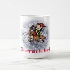 Mariah Carey Christmas Mugs Red Funny Gifts For Men And Women Gift Coffee Mug Tea Cup White-11 Oz.