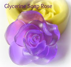 Soap Molds Silicone Mold Soap Clay Resin Open Rose Mould. $5.95, via Etsy.