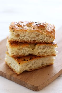 This homemade recipe for Focaccia Bread is surprisingly simple but makes rich, flavorful, and chewy yet soft bread that you're going to love!