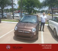 https://flic.kr/p/HRFAvi   Happy Anniversary to Steve on your #FIAT #500 from Vincent Bradford at FIAT of Dallas!   deliverymaxx.com/DealerReviews.aspx?DealerCode=F741